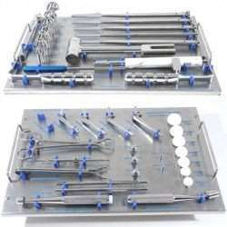 Caixa ortopédica Veterinária de prótese de quadril WS
