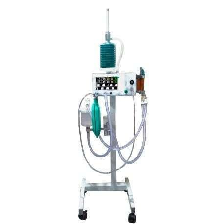 Aparelho de Anestesia Inalatória Veterinário Digital com respiração mecânica DL740