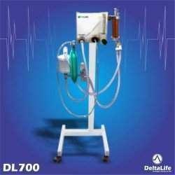Aparelho de Anestesia Inalatória Veterinário - DL700Vet (Portátil)