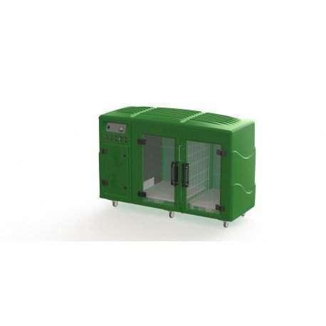 Maquina de Secar Animais Kyklon Verde