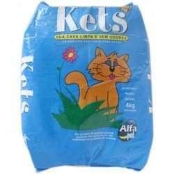 Areia Para Gato Kets 4Kg